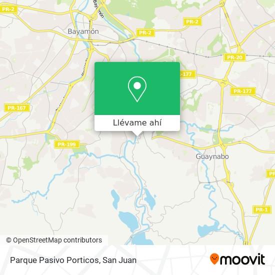 Mapa de Parque Pasivo Porticos