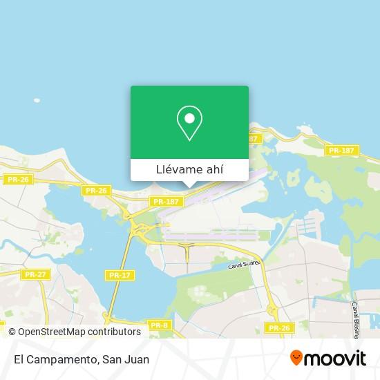 Mapa de El Campamento