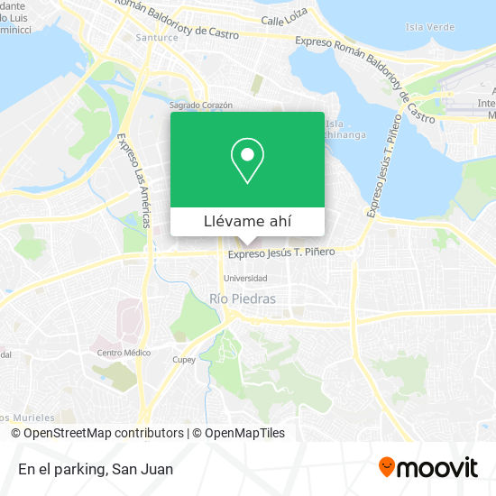 Mapa de En el parking