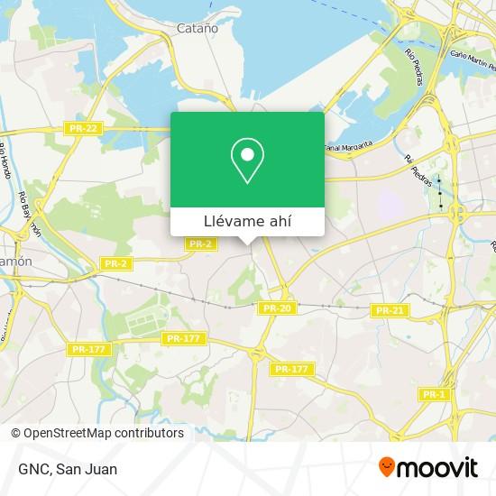 Mapa de GNC