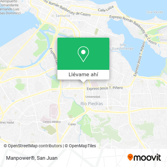 Mapa de Manpower®