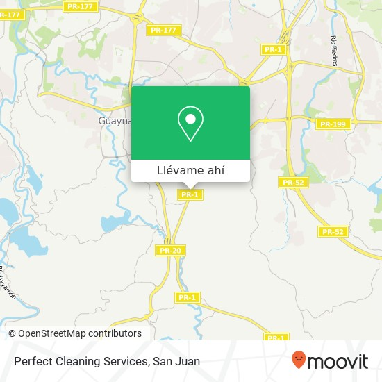 Mapa de Perfect Cleaning Services
