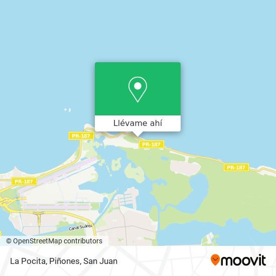 Mapa de La Pocita, Piñones