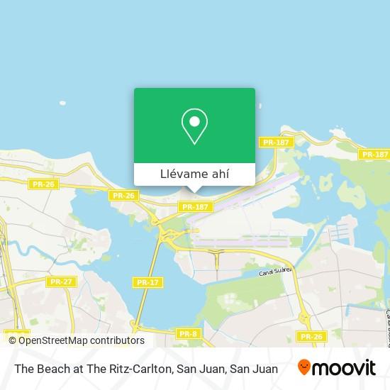 Mapa de The Beach at The Ritz-Carlton, San Juan