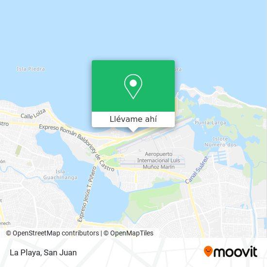 Mapa de La Playa