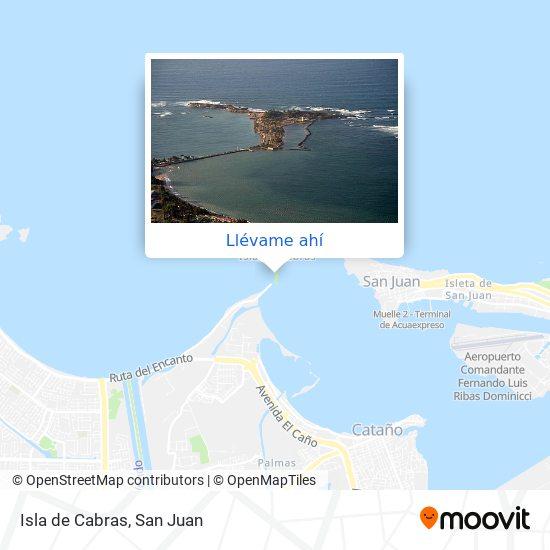 Mapa de Isla de Cabras