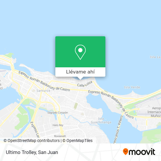 Mapa de Ultimo Trolley