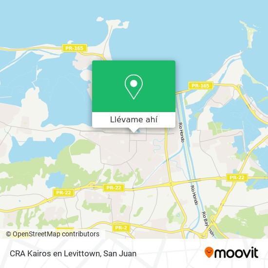 Mapa de CRA Kairos en Levittown