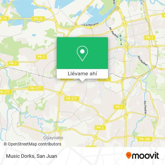 Mapa de Music Dorks