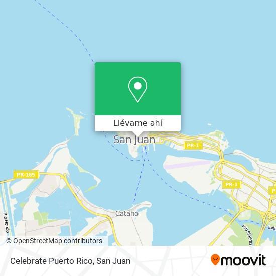 Mapa de Celebrate Puerto Rico