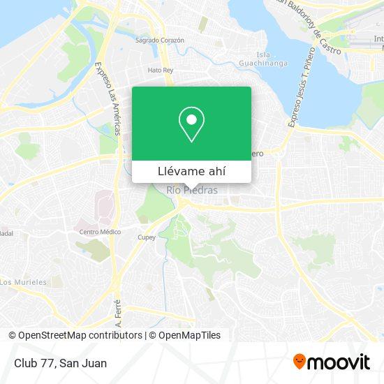 Mapa de Club 77