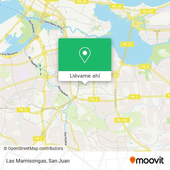 Mapa de Las Mamisongas