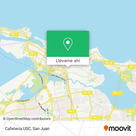 Mapa de Cafeteria USC