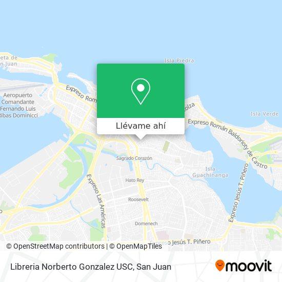 Mapa de Libreria Norberto Gonzalez USC