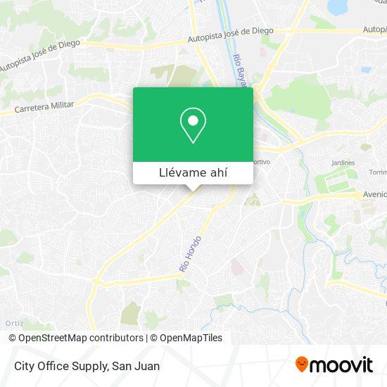 Mapa de City Office Supply