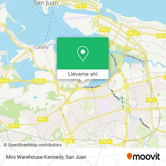 Mapa de Mini Warehouse-Kennedy