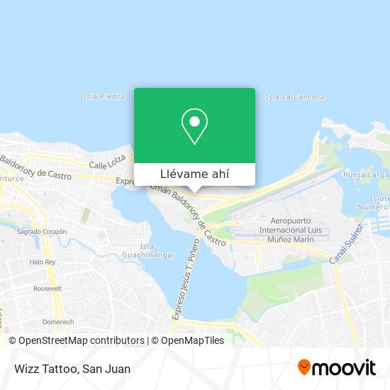 Mapa de Wizz Tattoo