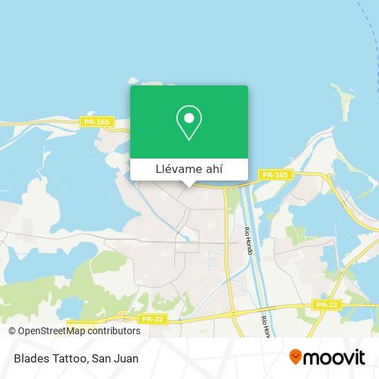 Mapa de Blades Tattoo