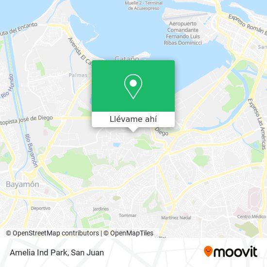 Mapa de Amelia Ind Park