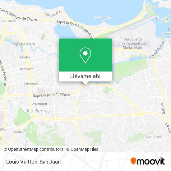 Mapa de Louis Vuitton