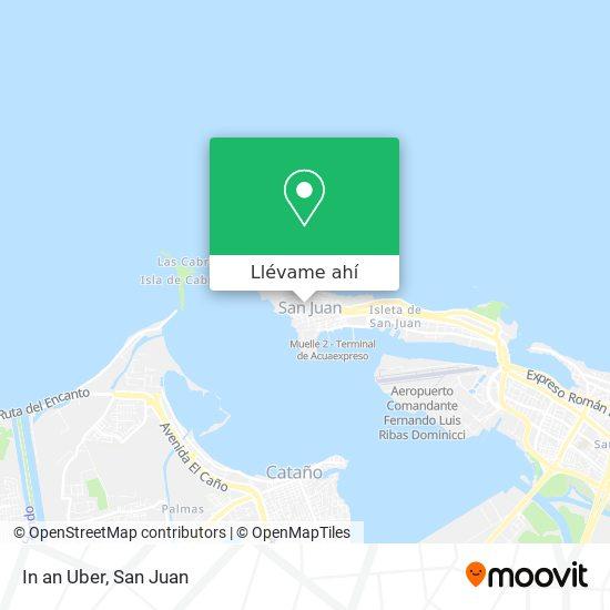 Mapa de In an Uber
