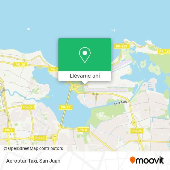 Mapa de Aerostar Taxi