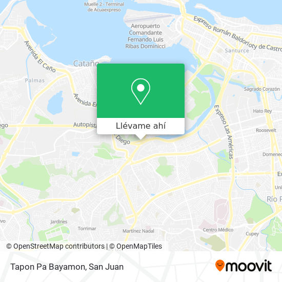 Mapa de Tapon Pa Bayamon