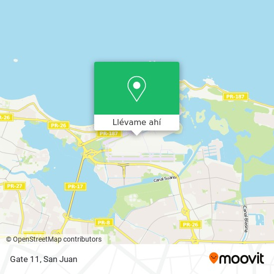 Mapa de Gate 11