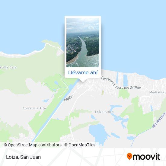 Mapa de Loiza