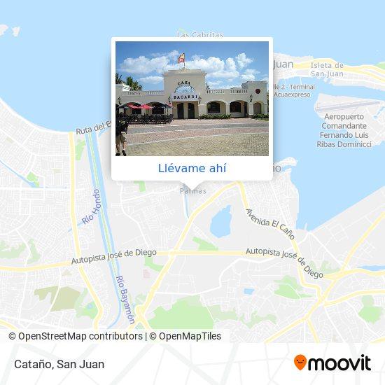 Mapa de Cataño