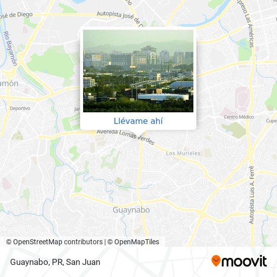 Mapa de Guaynabo, PR