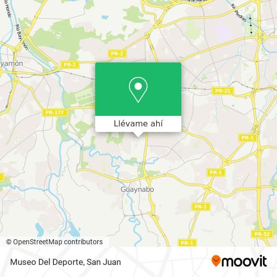 Mapa de Museo Del Deporte
