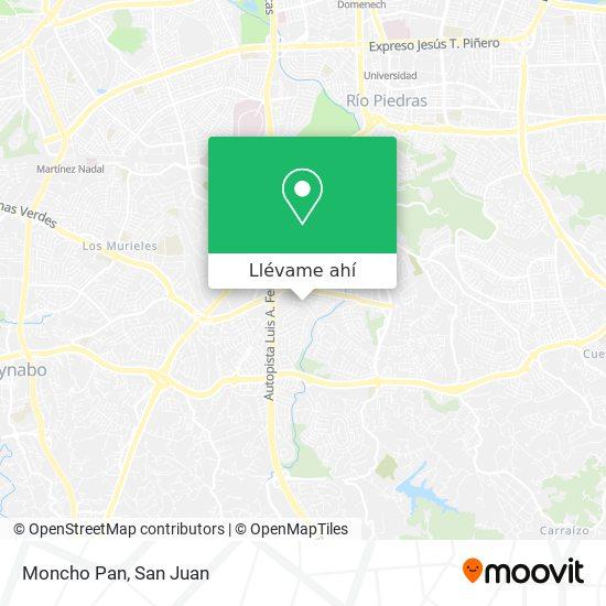 Mapa de Moncho Pan