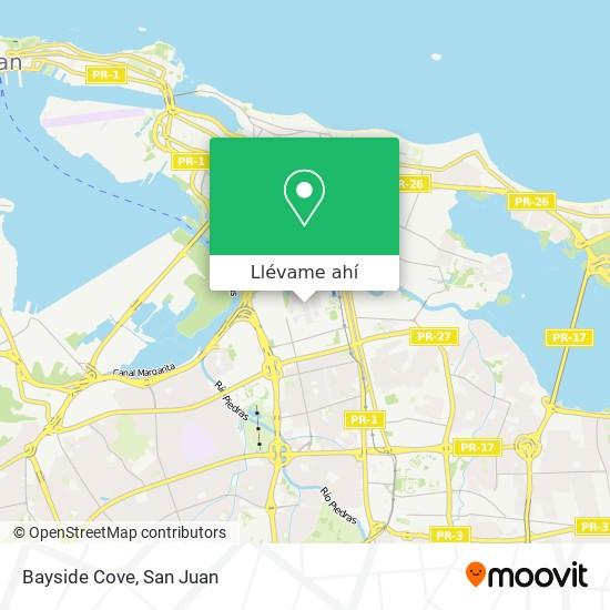 Mapa de Bayside Cove