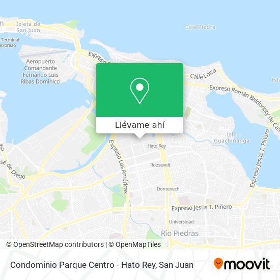 Mapa de Condominio Parque Centro - Hato Rey