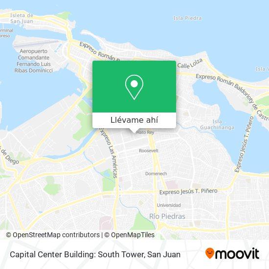 Mapa de Capital Center Building: South Tower