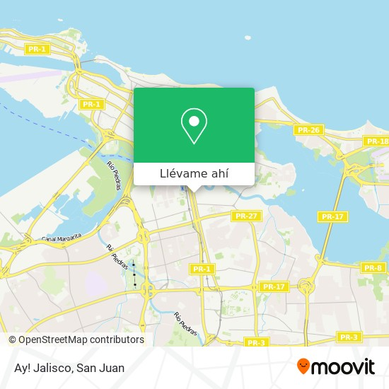 Mapa de Ay! Jalisco