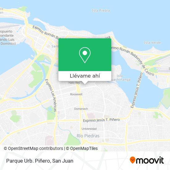 Mapa de Parque Urb. Piñero