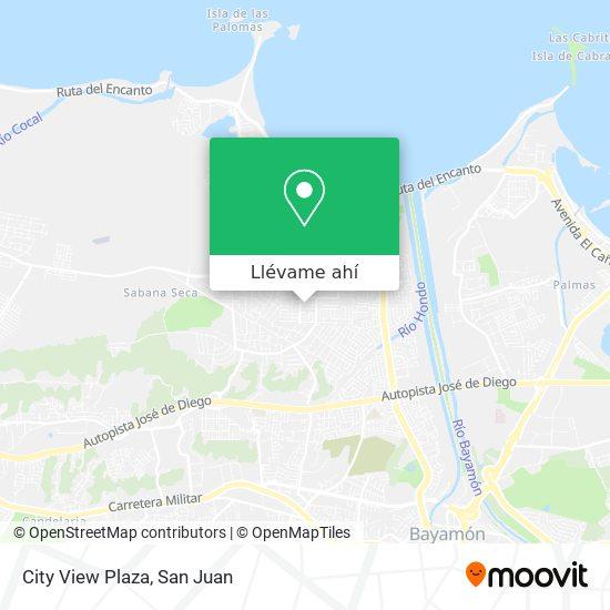 Mapa de City View Plaza