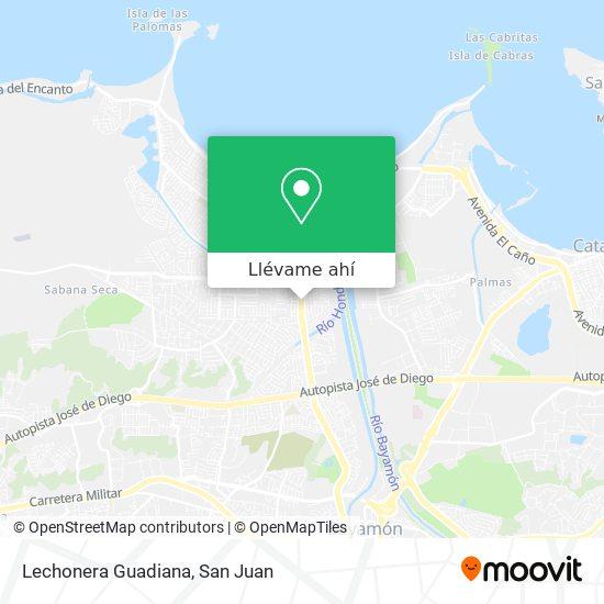 Mapa de Lechonera Guadiana