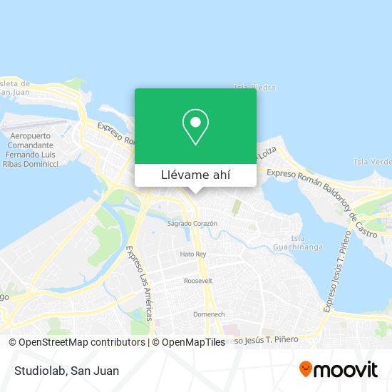 Mapa de Studiolab