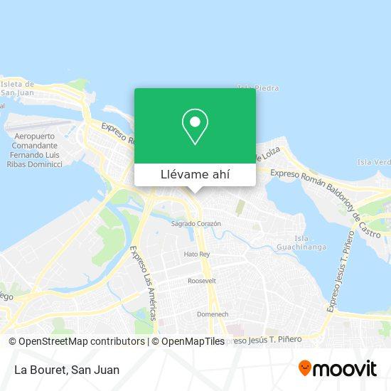 Mapa de La Bouret