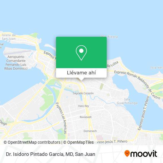 Mapa de Dr. Isidoro Pintado García, MD