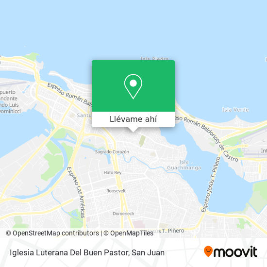Mapa de Iglesia Luterana Del Buen Pastor