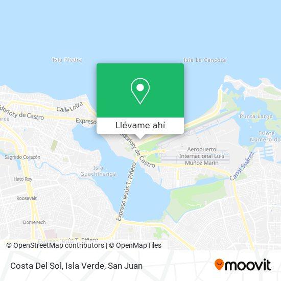 Mapa de Costa Del Sol, Isla Verde