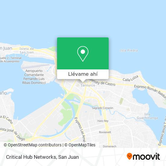 Mapa de Critical Hub Networks