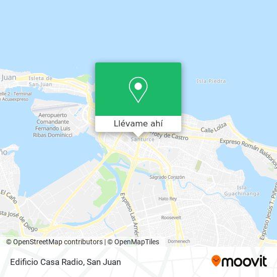 Mapa de Edificio Casa Radio
