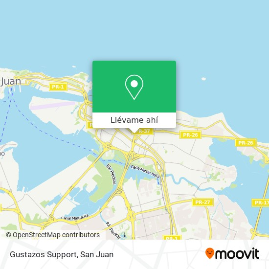 Mapa de Gustazos Support