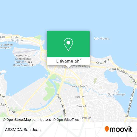 Mapa de ASSMCA
