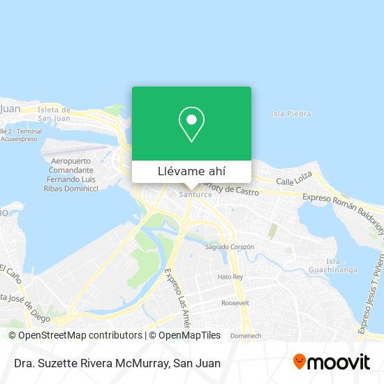 Mapa de Dra. Suzette Rivera McMurray